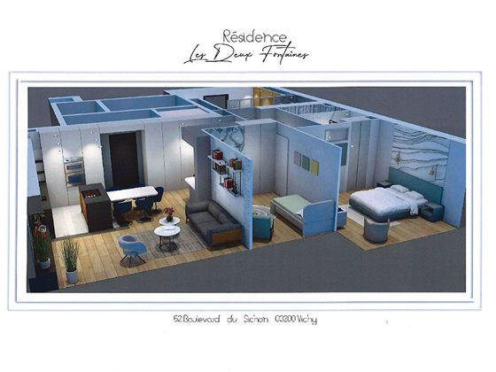 Vente appartement 3 pièces 82,1 m2