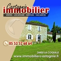 CASTAGNIE - IMMOBILIER