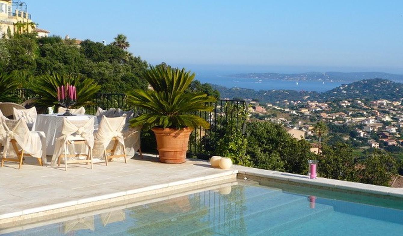 Villa avec piscine en bord de mer Sainte-Maxime
