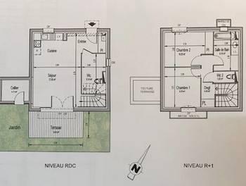 Maison 3 pièces 66,11 m2