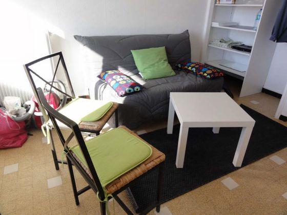 Location studio meublé 14,22 m2