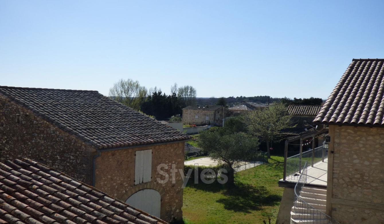 Villa with terrace Uzès