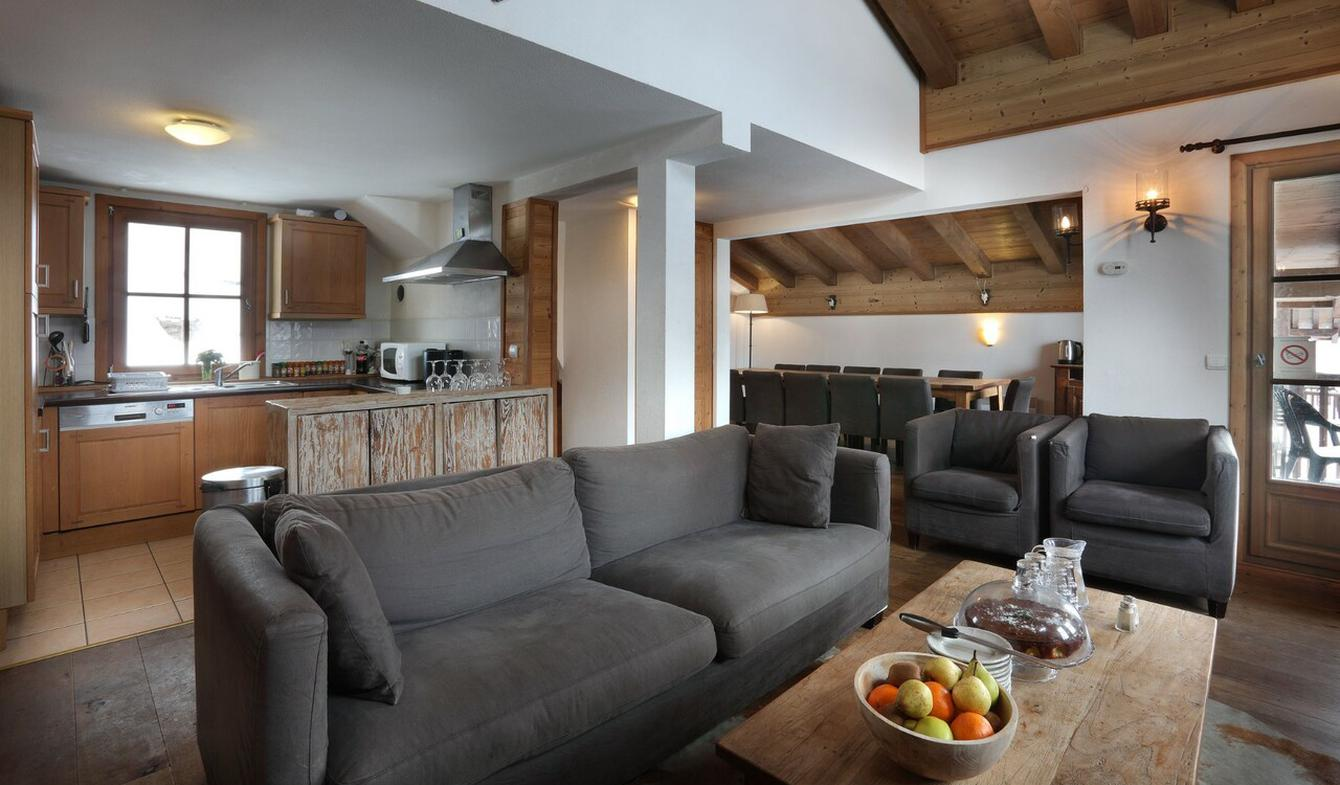 Chalet with terrace Tignes