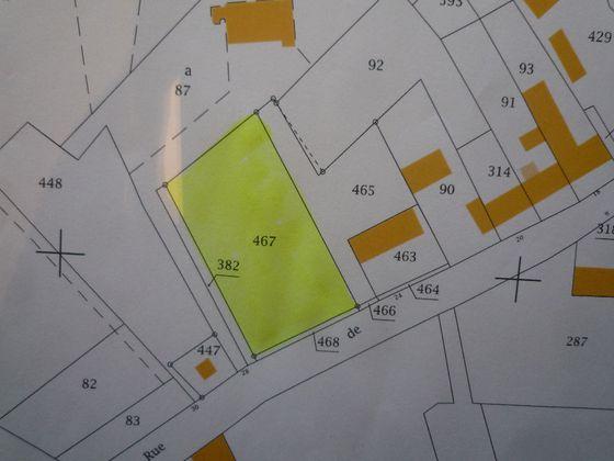 Vente terrain 1137 m2