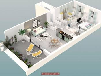 Appartement 3 pièces 60,29 m2