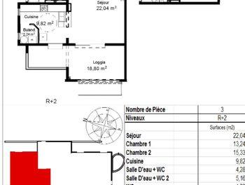 appartement à Ducos (972)