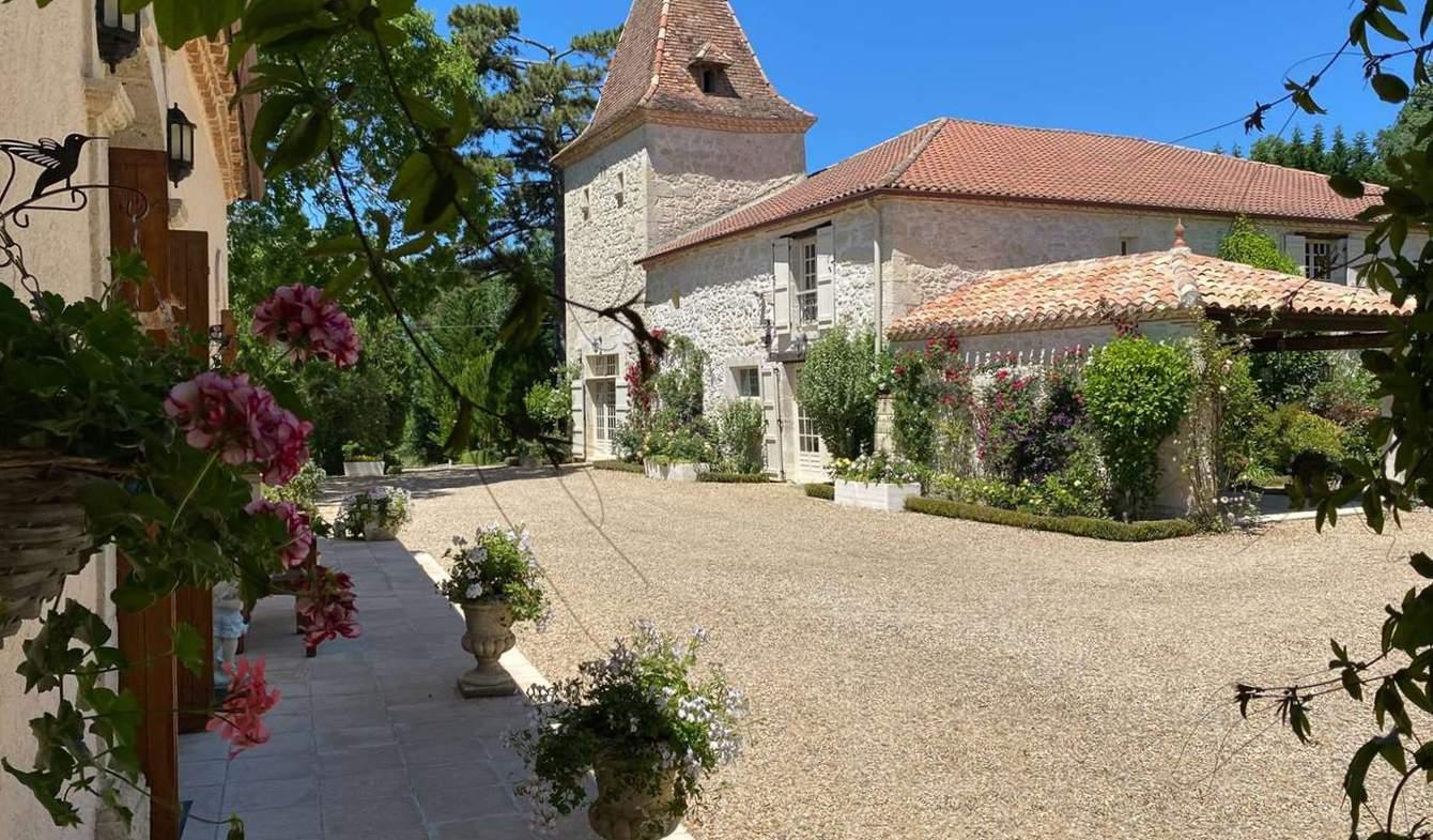 Propriété avec piscine Saint-Clar