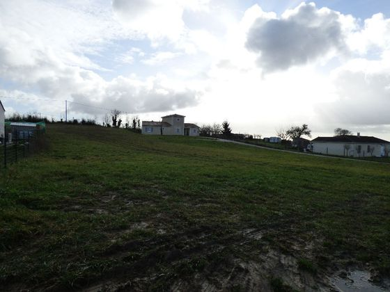 Vente terrain 839 m2