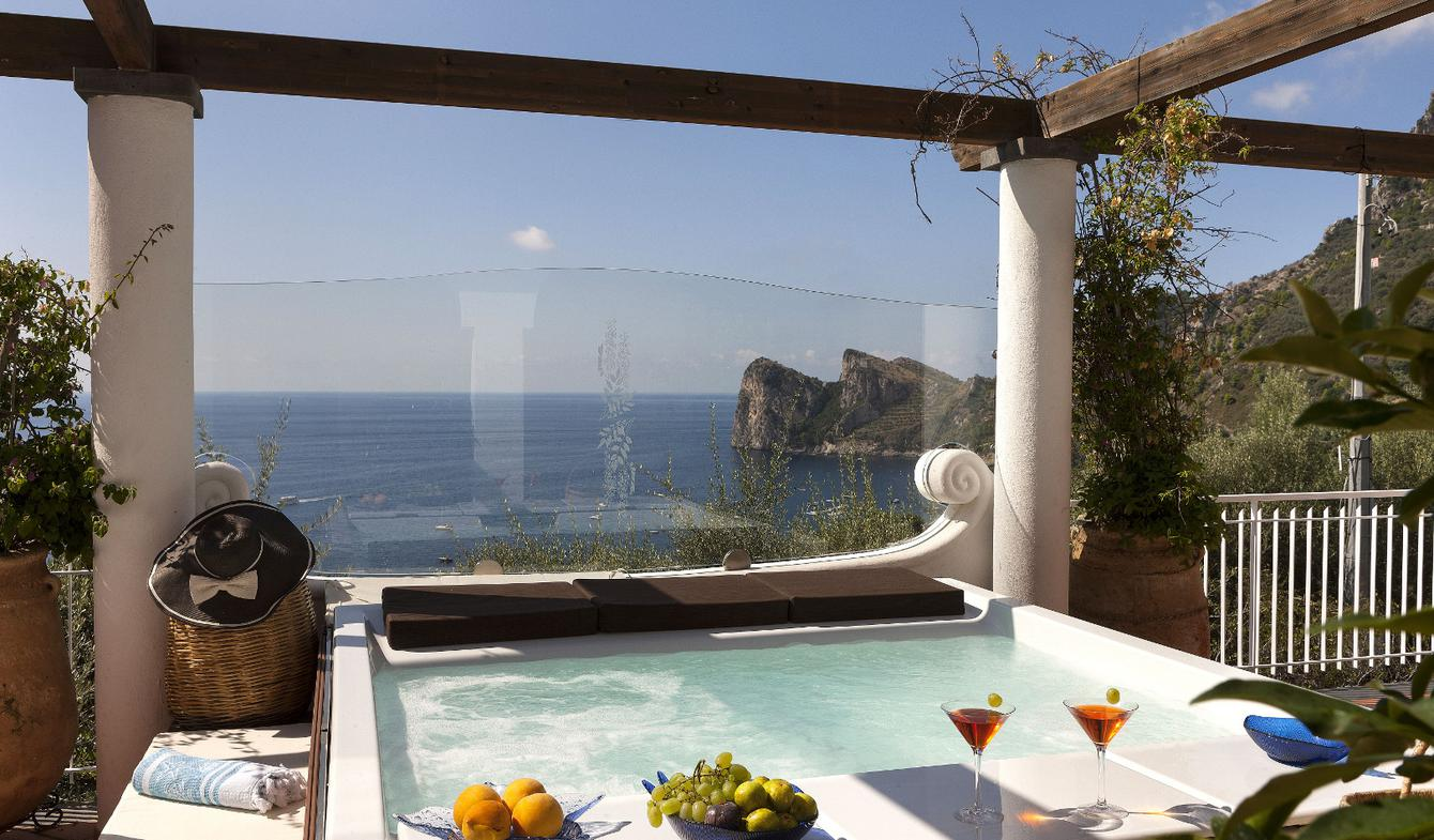 Villa with pool and terrace Sorrento