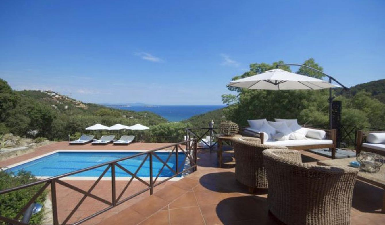 Villa with pool and garden Begur