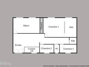 Appartement 5 pièces 133 m2