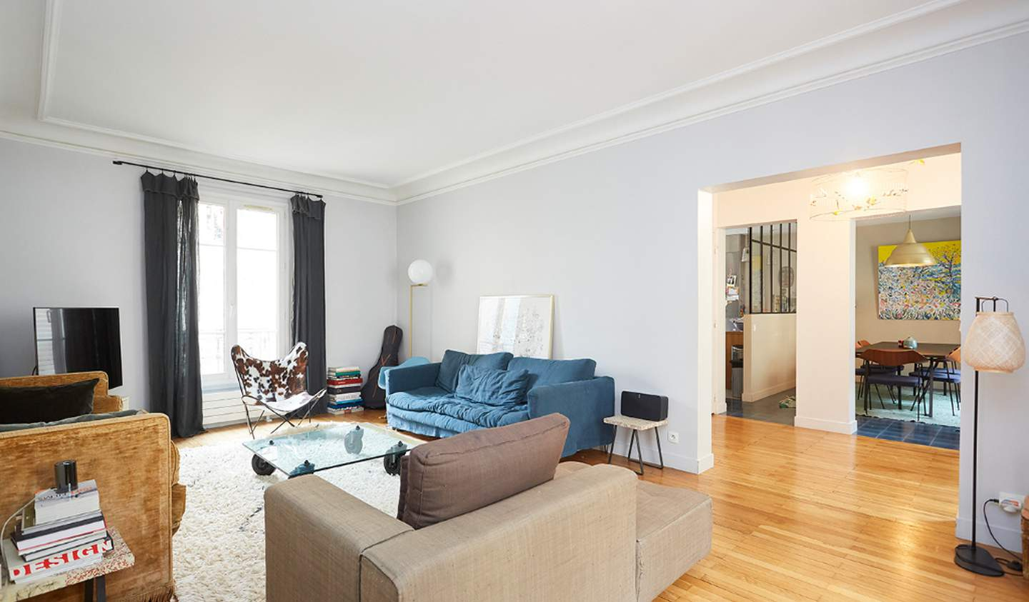 Apartment with terrace Levallois-Perret