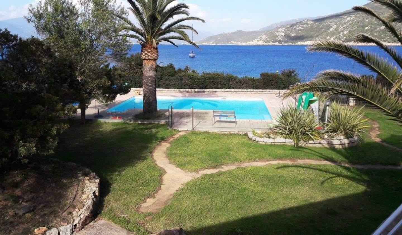 Maison avec piscine en bord de mer Belvédère-Campomoro