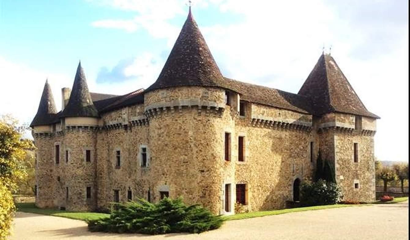 Château classé monument historique Perigueux
