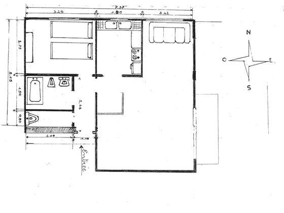 Vente appartement 3 pièces 46,71 m2