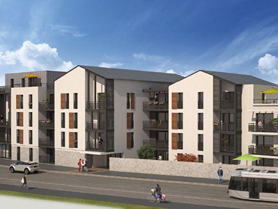 Vente appartement 2 pièces 56,93 m2