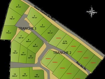 Terrain 542 m2