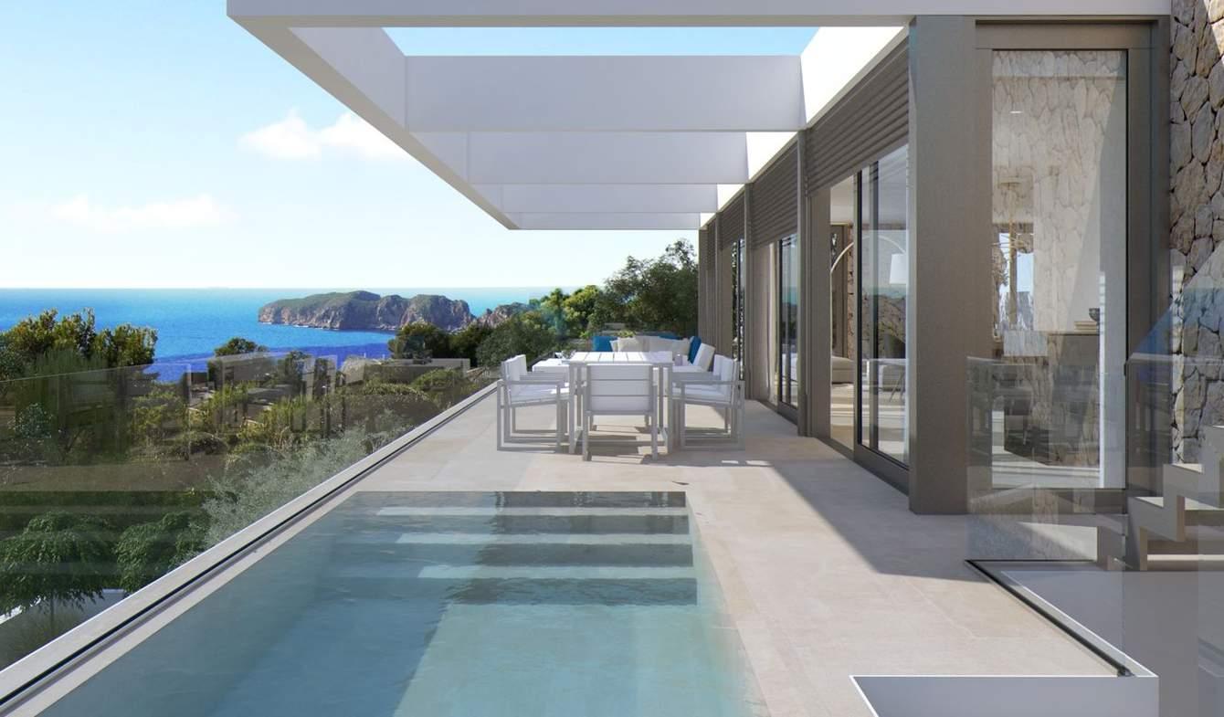 Villa avec piscine et jardin Santa Ponsa