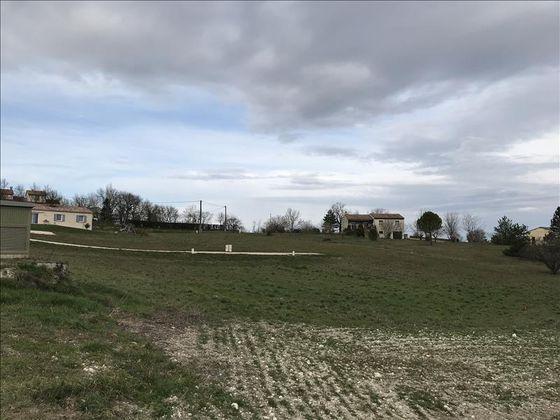 Vente terrain 1232 m2
