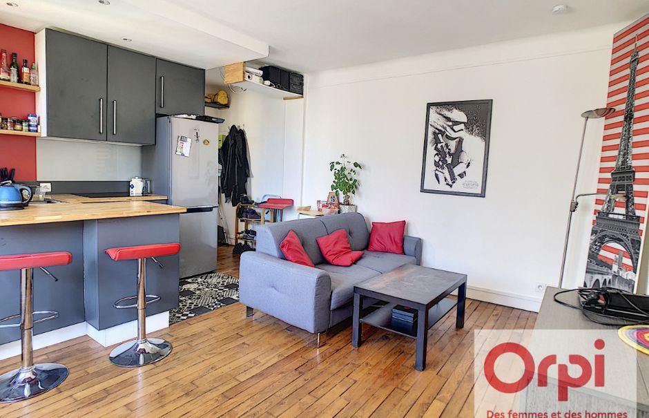 Vente appartement 2 pièces 37 m² à Issy-les-Moulineaux (92130), 358 000 €