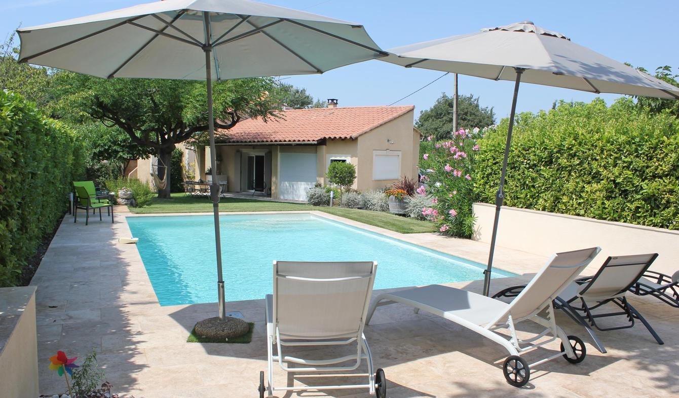 Villa with pool and garden Le Beaucet