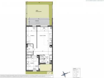 Appartement 3 pièces 67,09 m2