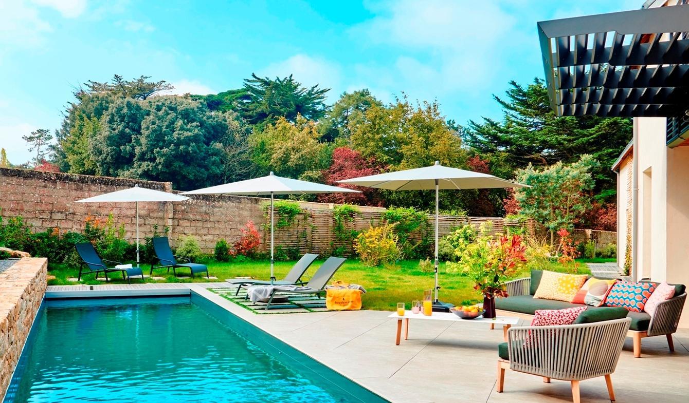 Villa en bord de mer avec jardin Batz-sur-Mer