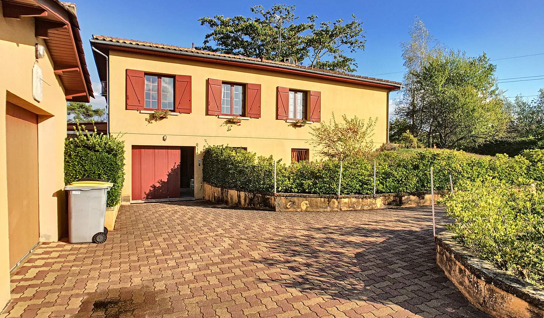 Maison avec piscine Saint-Capraise-de-Lalinde