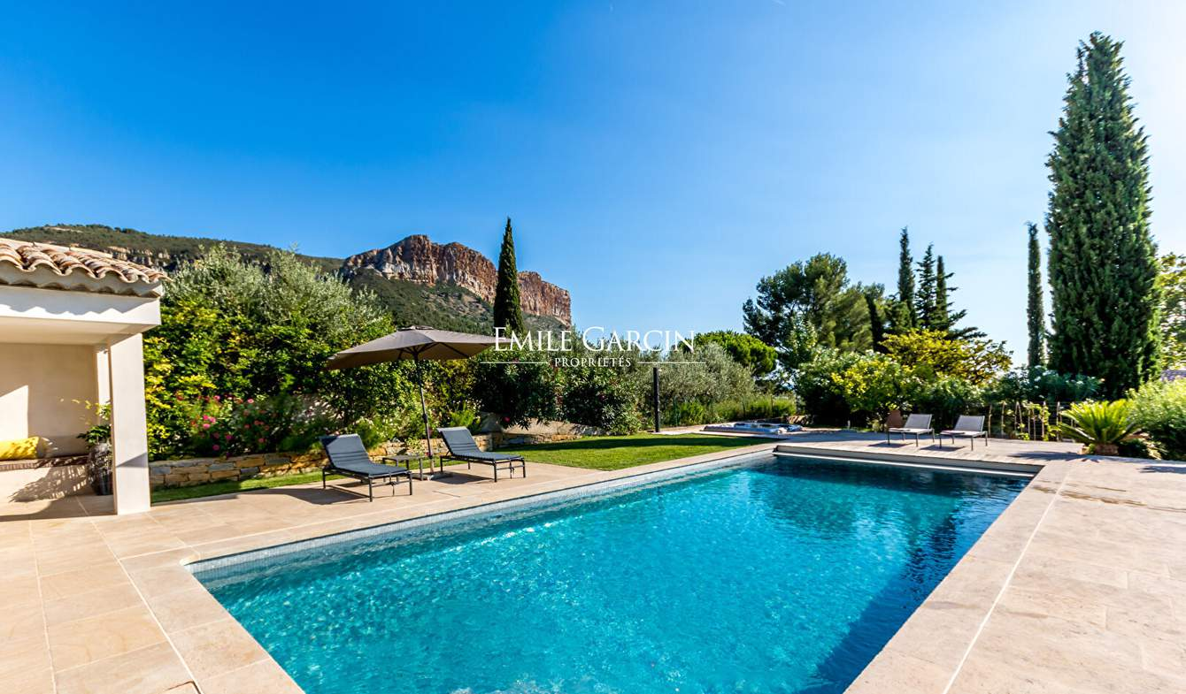 Villa with pool Cassis