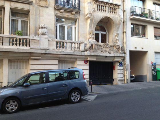 location Parking 8,55 m2 Paris 16ème