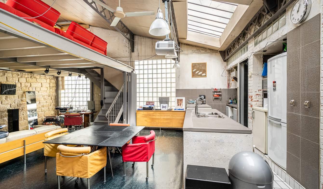 Loft Paris 18th