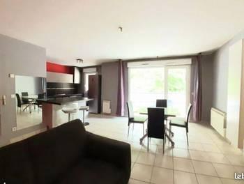 Appartement meublé 3 pièces 64 m2