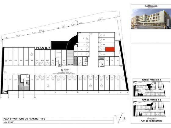 Vente appartement 2 pièces 44,16 m2