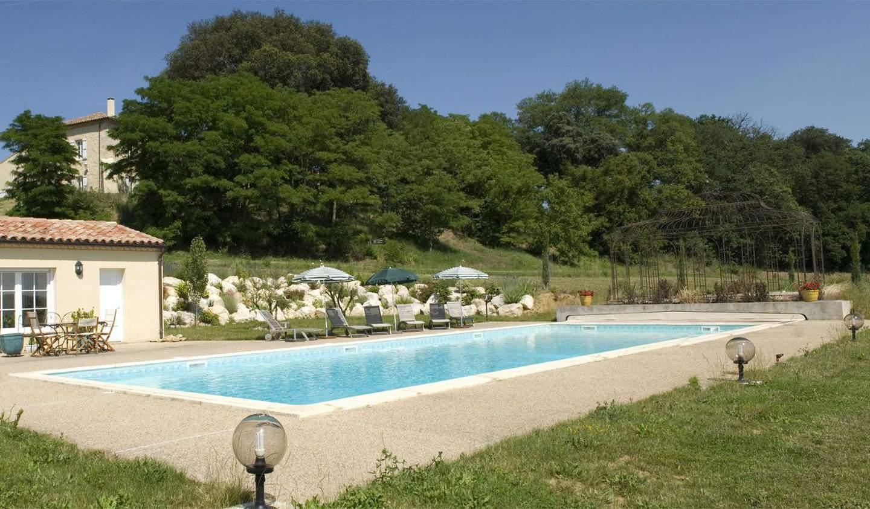 Maison avec piscine et terrasse Saint-Puy