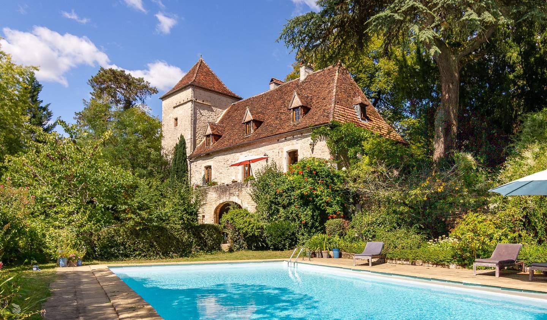 Maison avec piscine et terrasse Saint-Sozy