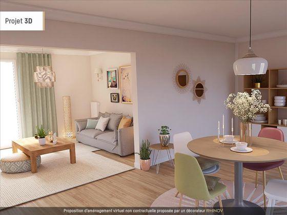 Vente appartement 5 pièces 101,37 m2