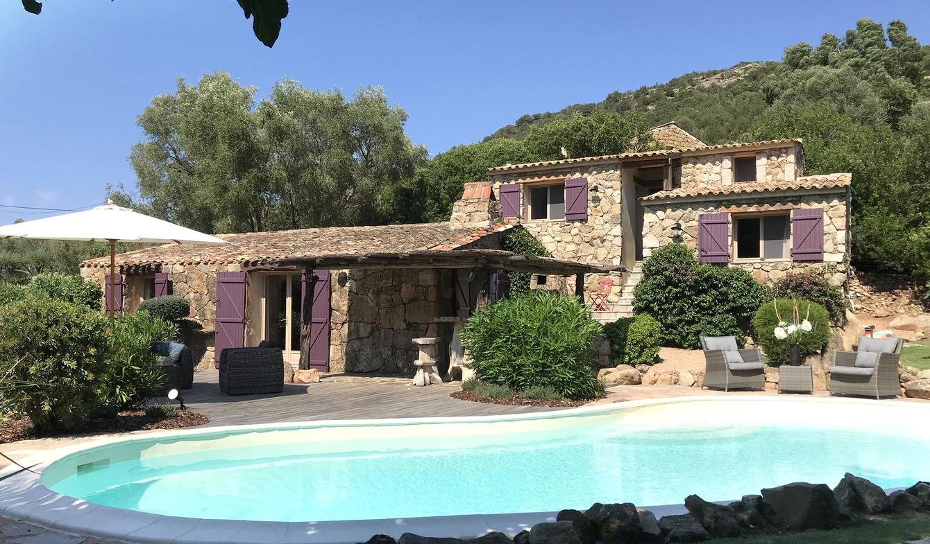 House with pool and garden Porto-Vecchio