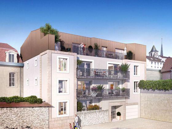 vente Appartement 2 pièces 44 m2 Dijon