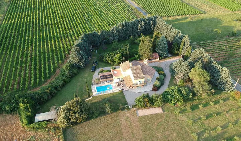 Maison avec piscine et terrasse Brue-Auriac