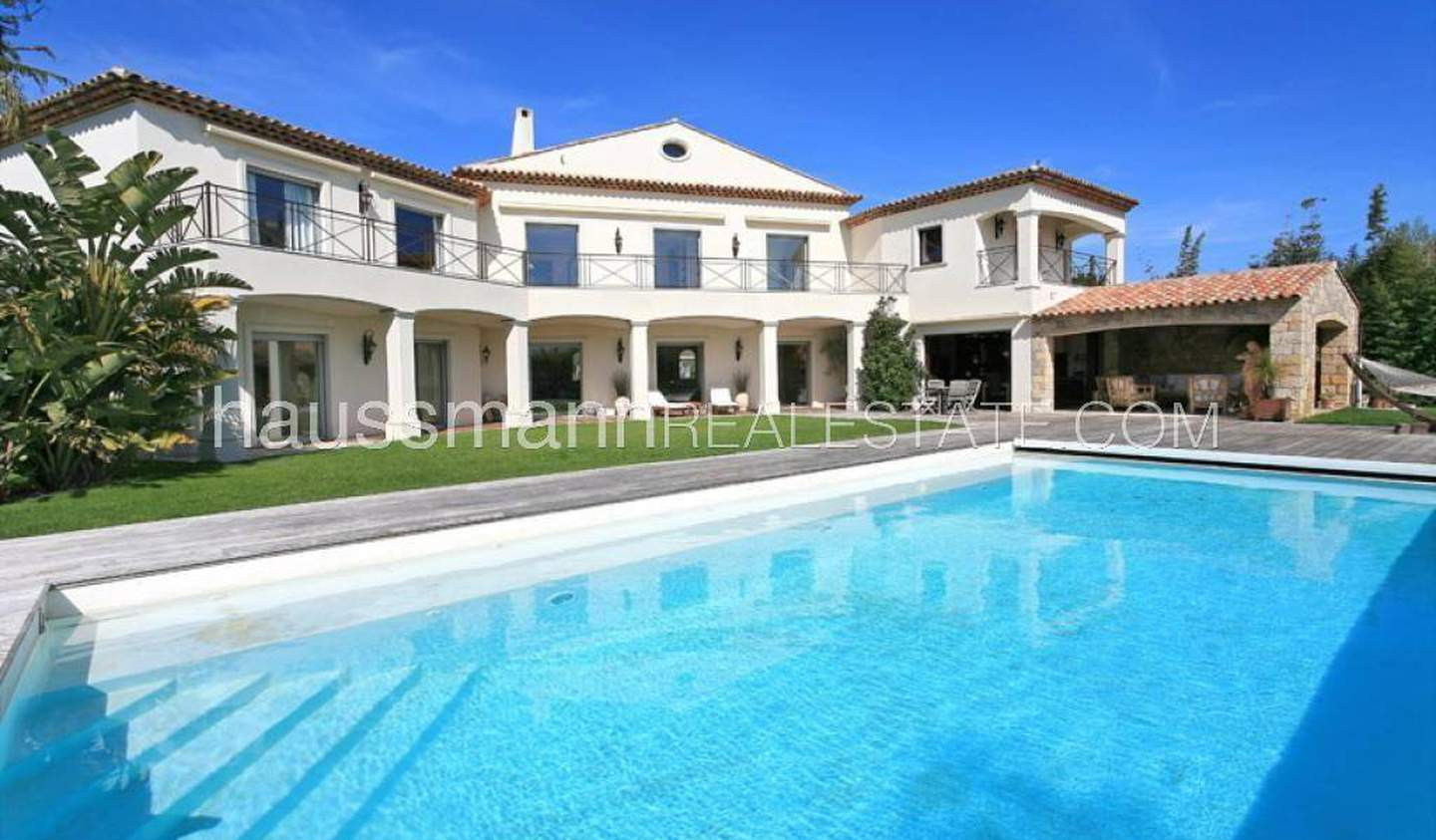 House with pool and terrace Antibes