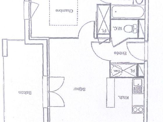Vente appartement 2 pièces 35,34 m2