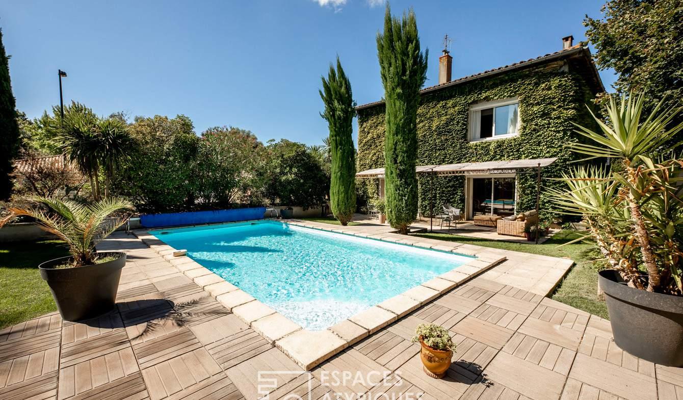 Maison avec piscine et terrasse Longages