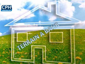 Terrain à bâtir 951 m2