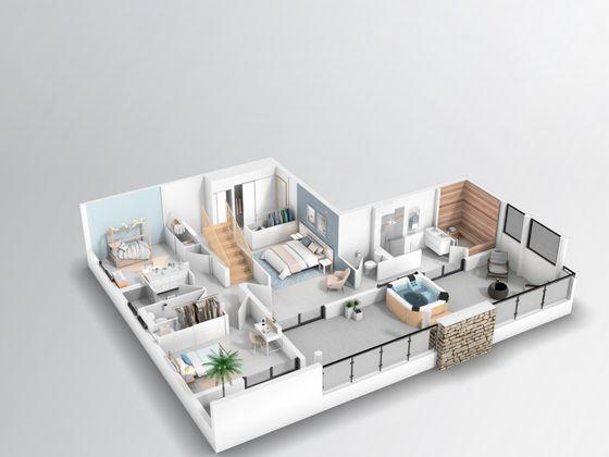 Vente appartement 5 pièces 120,65 m2