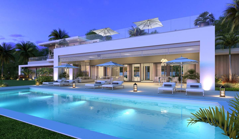Villa with pool La Place Belgath
