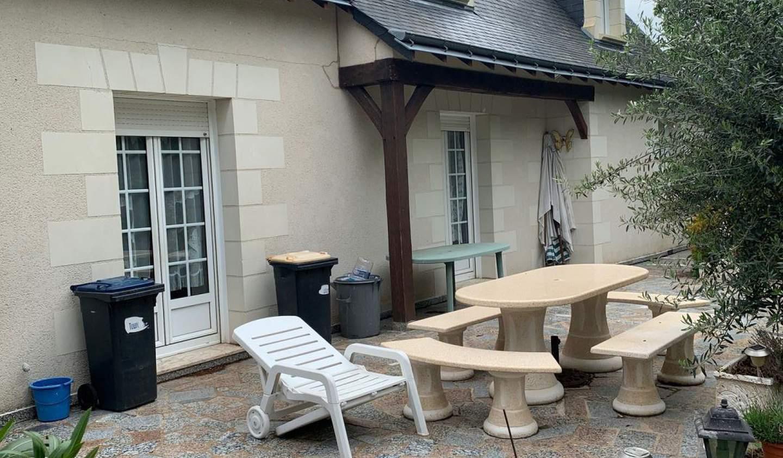 Maison avec terrasse Mettray