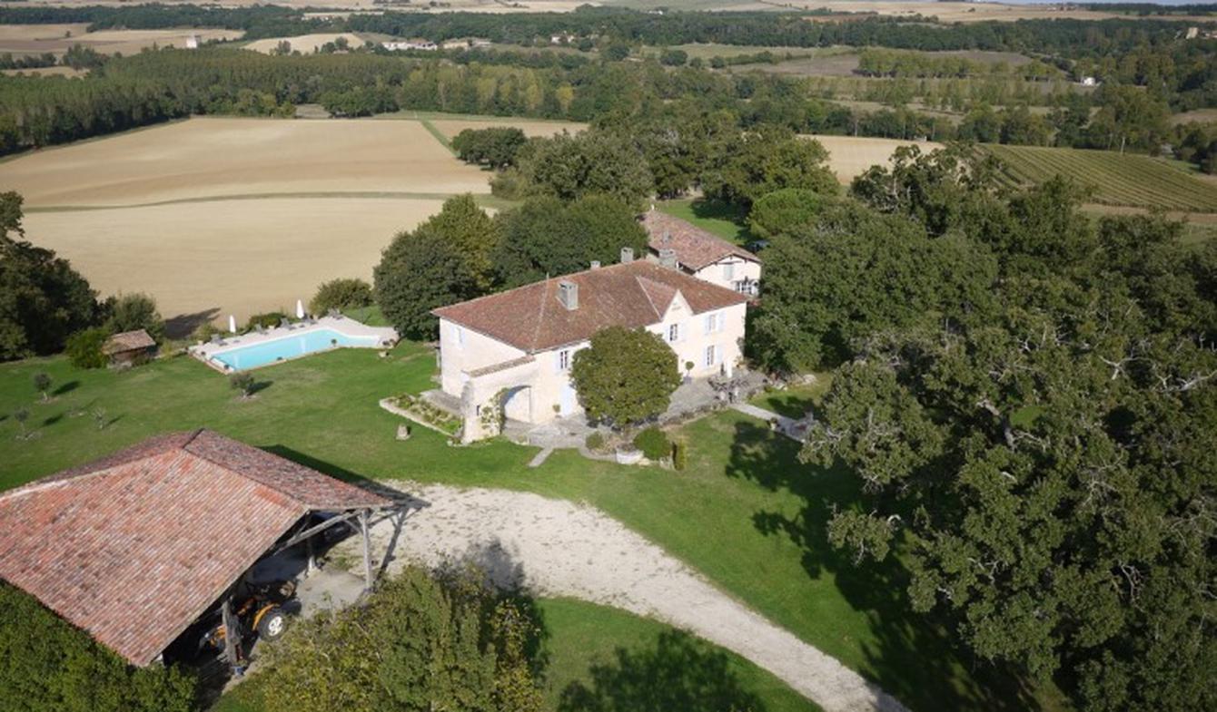 Maison avec piscine et terrasse Mauvezin