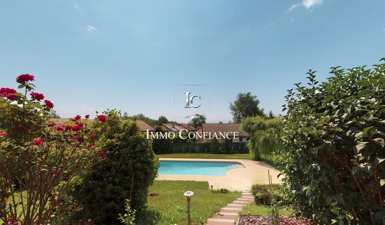 Maison avec piscine Cessy
