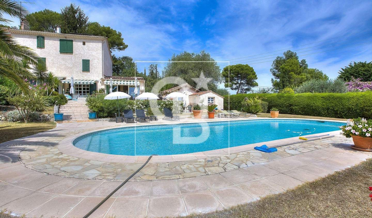 House with garden and terrace Mougins