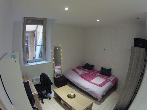 Location studio meublé 14,5 m2